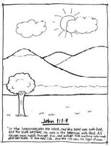 Coloring Pages Scripture Melodies